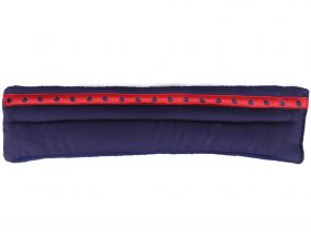 Noseband pad Q Friesian Navy Full