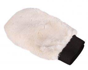 Grooming glove soft Cream