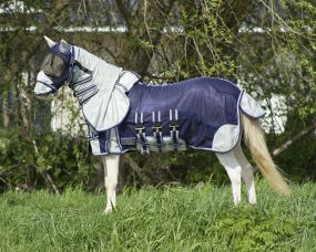 Falabella fly rug Blue 115