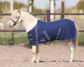 Falabella fleece rug Blue 115