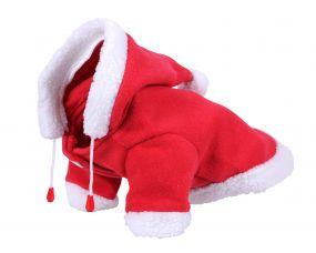 Christmas dog coat size Red 35cm