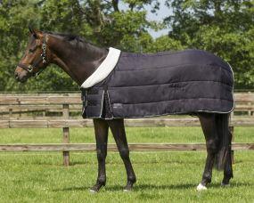 Underrug with fleece collar 300gr Black 215