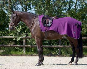 Exercise fleece rug Eldorado Berry XL