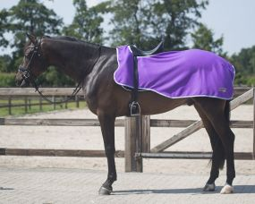 Exercise rug fleece Color Passion flower XL