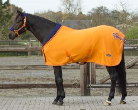 Fleece rug Holland Orange 215