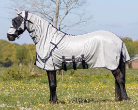 Fly sheet with neck and hood Big neck Grey 225