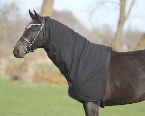 Loose fleece neck part Black L