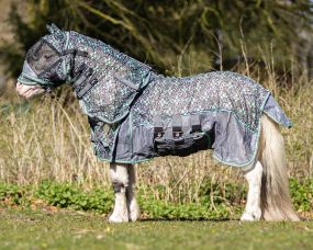 Fly rug falabella Collection Pacific flowers 90