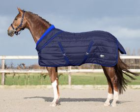 Stable rug luxury Collection 200gr Navy 215