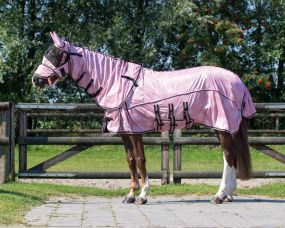 Anti-fly sheet collection with neck and hood Blossom 205