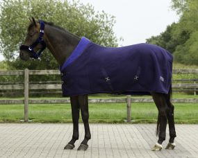 Fleece rug Alaska Navy/blue 215