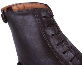 Elasticized laces Brown