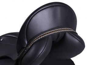 Saddle jewel Brianna Black/black Pony
