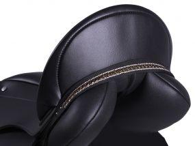 Saddle jewel Brianna Black/black Full