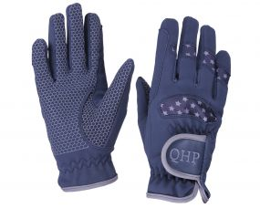 Glove Multi Star Navy/grey S