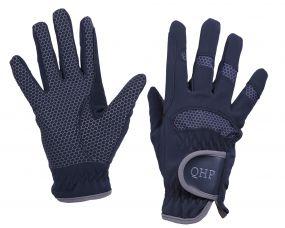 Glove Multi Hexagon Navy XXL