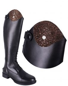 Exchangeable top Romy Sparkle Cacao 38/40
