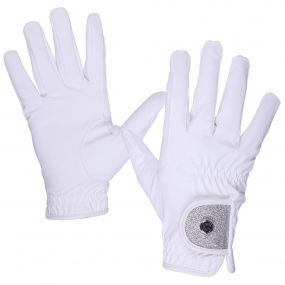 Glove Glitz White XL