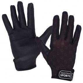 Glove Solar mesh Black XL
