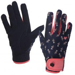 Glove Sanna mesh Navy Junior 3