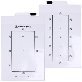 Practice board dressage White