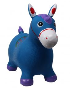 Jumpy horse Blue