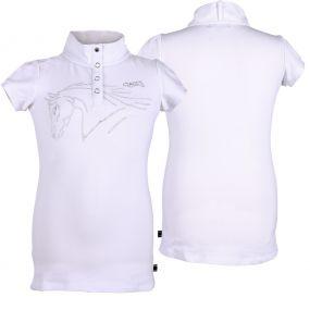 Competitionshirt Nola White 176