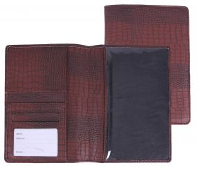 Horse passport map Croco Brown