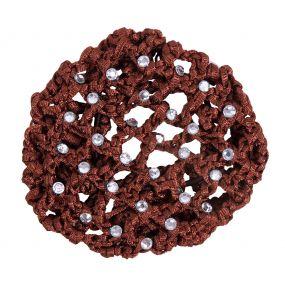 Hair net Diamond Brown