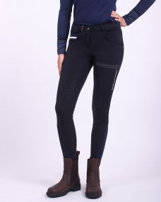 Breeches softshell Emma anti-slip full seat Navy 48