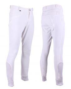Breeches Luc knee grip White 54