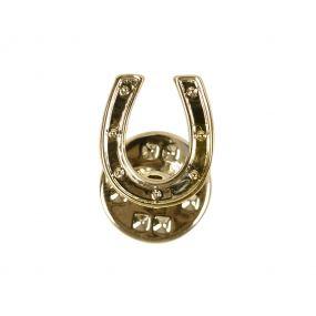 Lapel pin Horseshoe Gold