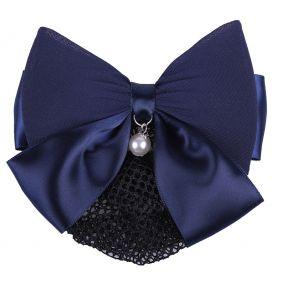 Hair bow Grace Navy