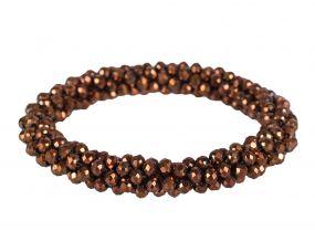 Hair scrunchie Shine Copper