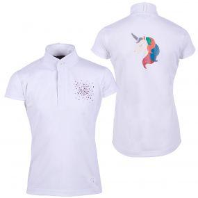 Competitionshirt Dorine Junior White 176