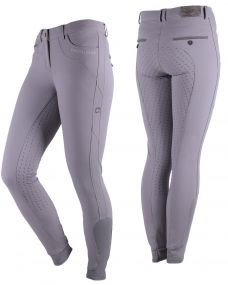 Breeches Kaley anti-slip full seat Ash grey 44