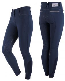 Breeches Aivee anti-slip full seat Navy 48