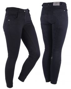 Breeches Veerle anti-slip full seat Black 44