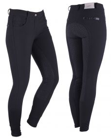 Breeches Charlene anti-slip full seat Black 44
