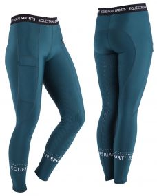 Breeches pull-on Ylana leg grip Deep teal 44
