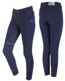 Breeches Florinthe Junior leg grip Navy 152