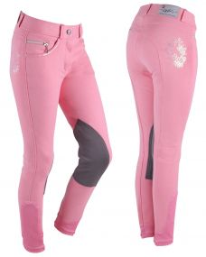 Breeches Odilia Junior Flamingo pink 164