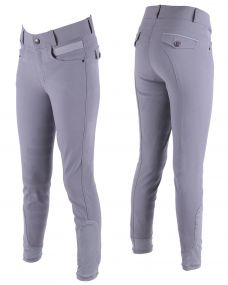 Breeches Ivar Junior leg grip Grey 164