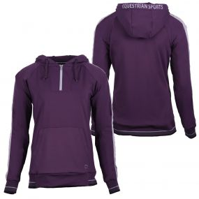 Hooded sweater Noleste Grape purple 44