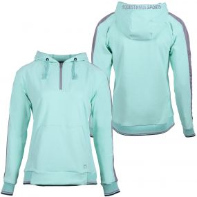 Hooded sweater Noleste Ice green 38