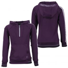 Hooded sweater Noleste Junior Grape purple 176