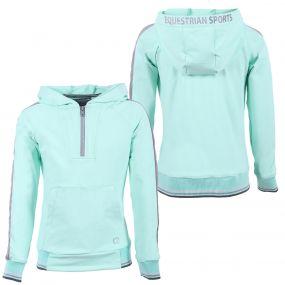Hooded sweater Noleste Junior Ice green 176