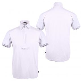Competitionshirt Mark Junior White 176