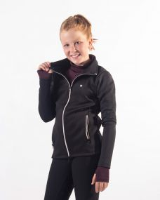 Sweat jacket Diamond Junior Black 176