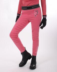 Riding tights Leyla Junior leg grip Desert rose 98